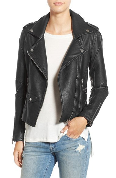 BLANKNYC 'Easy Rider' Faux Leather Moto Jacket | Nordstrom