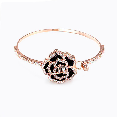 Vintage 18K Rose Gold Plated Bangle