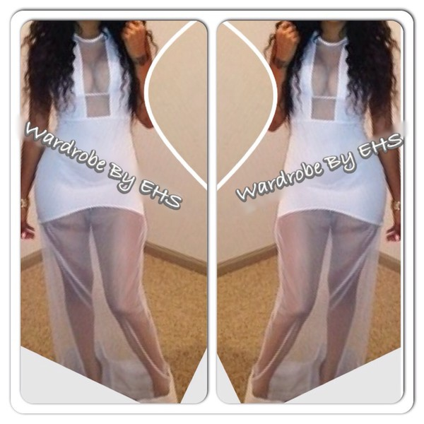 dress summer dress white dress mesh dress lace dress