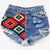 Olivia Studded Vintage Levis Shorts | RUNWAYDREAMZ