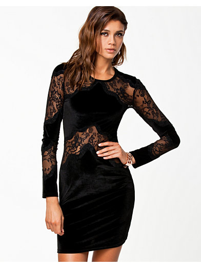 Dress - Nly Eve - Black - Party Dresses - Clothing - Women - Nelly.com