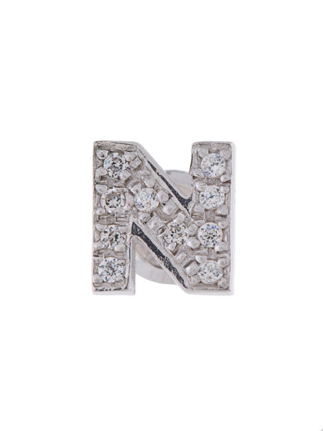 Mehem women silver grey metallic jewels