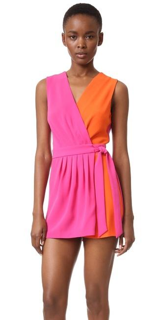 dress wrap dress mini dress summer dress pink dress