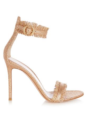 glitter sandals rose gold rose gold shoes