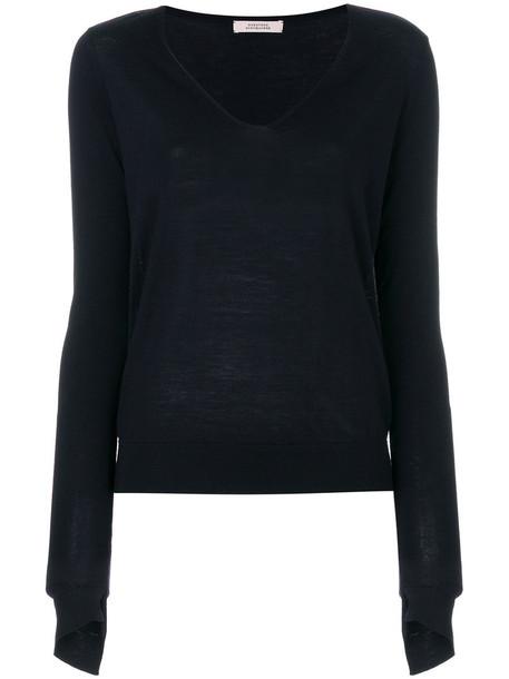 Dorothee Schumacher sweater women blue wool