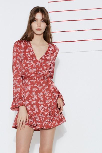 The fifth dress wrap dress