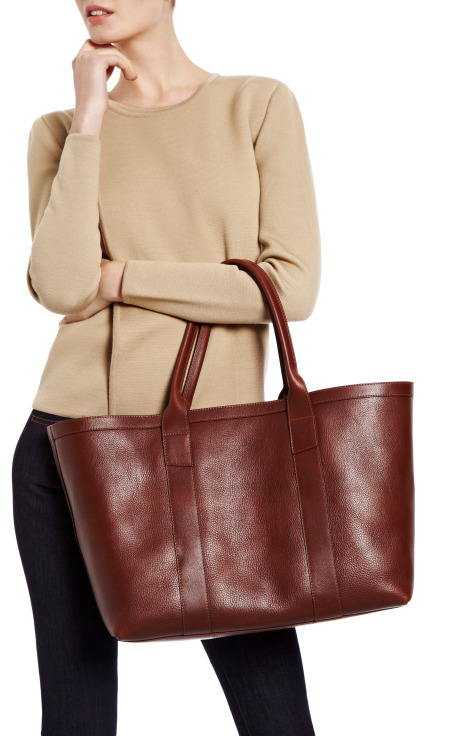 Grained Leather Tote by Lotuff - Moda Operandi