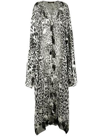 dress print dress leopard print dress women print black silk leopard print