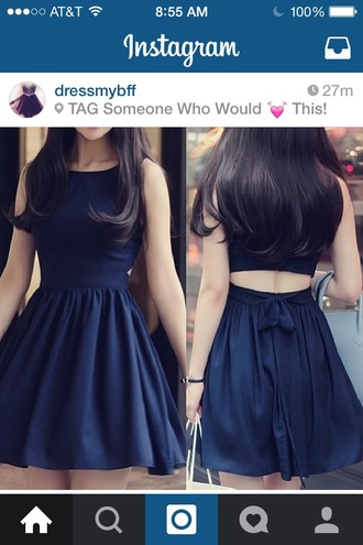 dress black dress cut-out dress skater skirt