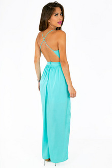 X Back Maxi Dress - Tobi