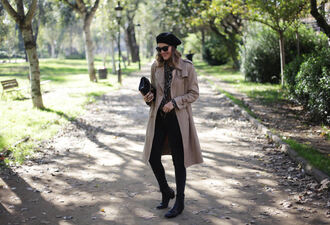 my daily style blogger coat jeans blouse shoes belt bag