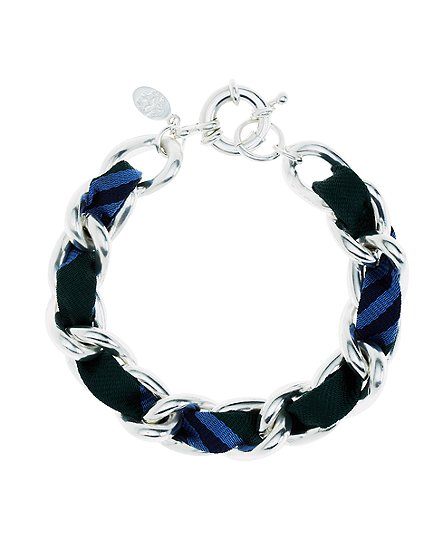 Ribbon Chain Bracelet - Brooks Brothers