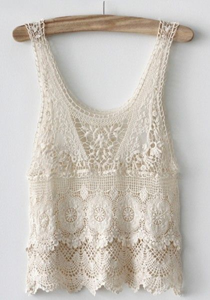 Cute lace vest for girls