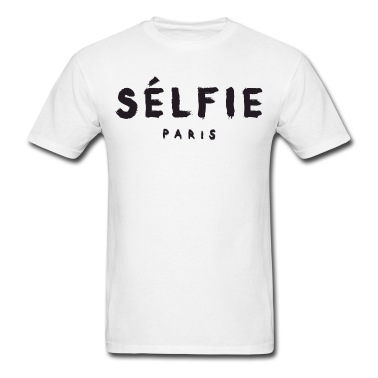 Selfie - Paris T-Shirt | Spreadshirt | ID: 13611104
