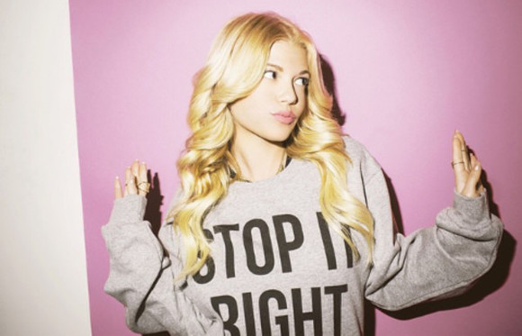 sweater chanelwestcoast blonde girl quote on it