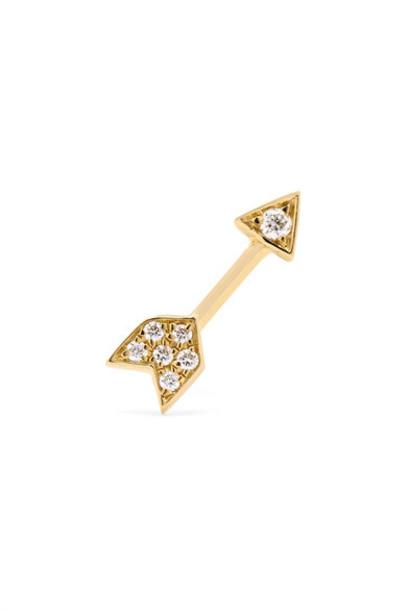 Maria Tash arrow gold jewels