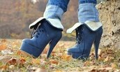 shoes,heels,black,high heels,boots,blue high heels,lace-up shoes,low boots,boots with the fur,pump boots,boot pumps,high heels boots,navy,fur boots
