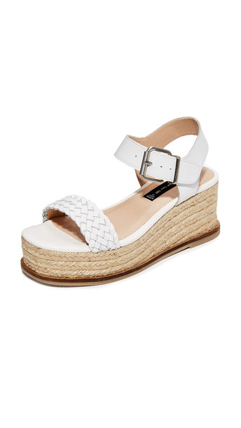sandals flatform sandals white shoes