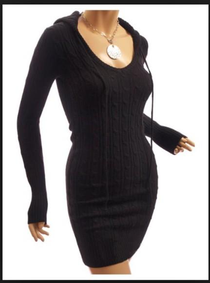 sweater winter sweater cute dress black pullover cute dress sweater dress