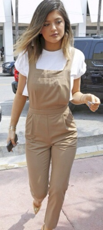 cute jumpsuit kendall and kylie jenner overalls