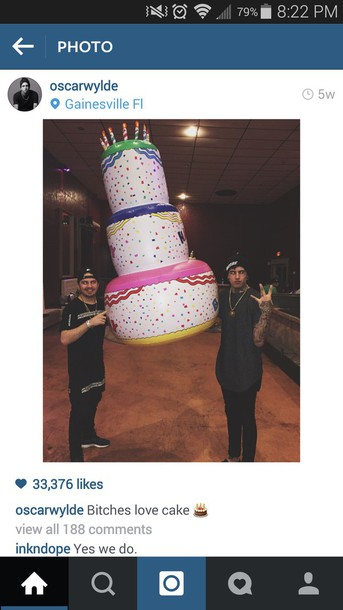 jewels cake inflatable oscarwylde