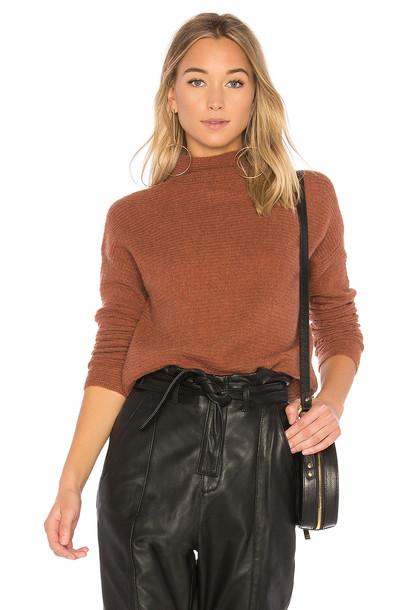 White + Warren sweater brown