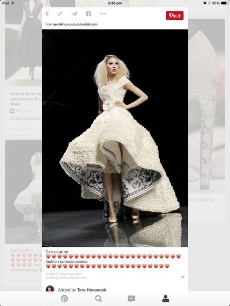 dress dior couture dress