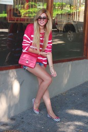 superficial girls,shorts,sweater,shoes,bag