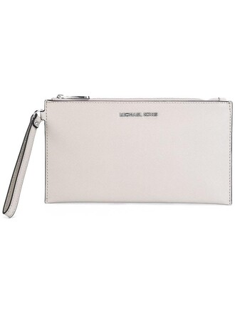 women clutch pouch grey bag
