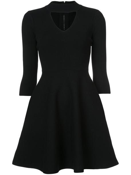 MILLY dress mini dress mini women spandex black
