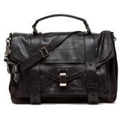 bag,big black bag,silver accents