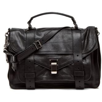 bag big black bag silver accents
