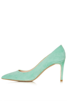 GOLDEN Mid Heel Court Shoes - Topshop