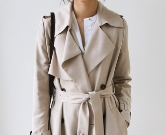 coat jack wills hugo boss trench coat beige coat double breasted