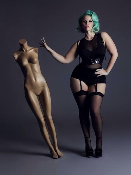 294309d4d6 lingerie corset belt stocking stockings curvy plus size underwear plus size  black underwear underwear