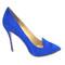 Beautiful heels - electric blue suede stiletto heels
