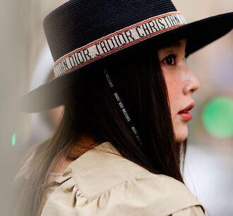 hat streetstyle fashion week milan fashion week 2018 fedora