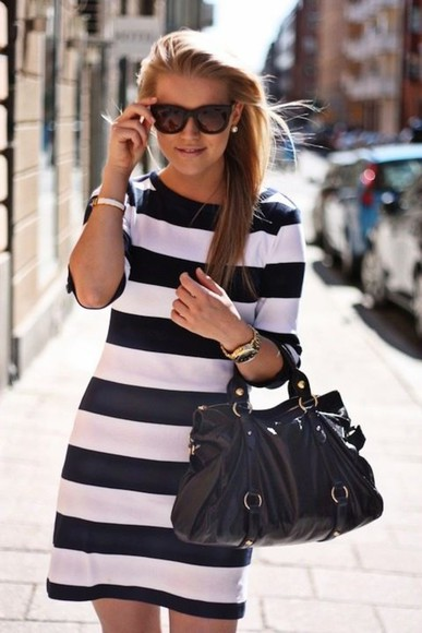 dress striped dress stripes