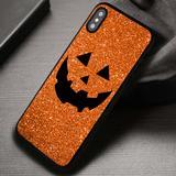 Pumpkin Face Halloween - iPhone X 8  7 6s SE Cases & Covers #iPhoneX