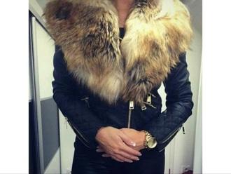coat fur coat leather jacket love quotes amazing i need it now