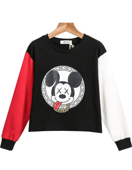 disney mickey mouse top minnie mouse