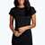 Taylor Curved Hem Roll Sleeve TShirt Dress