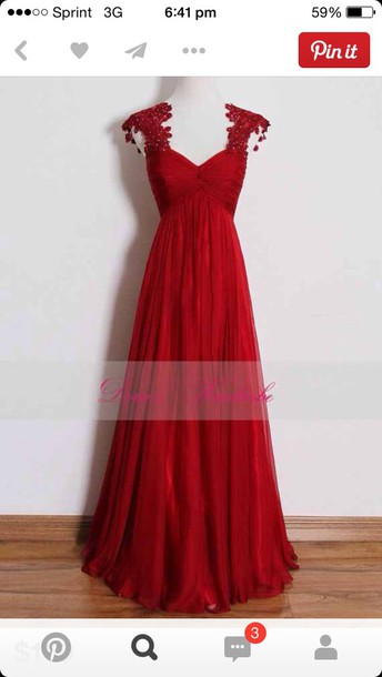 red dress prom gown red dress prom dress cute long dress long prom dress