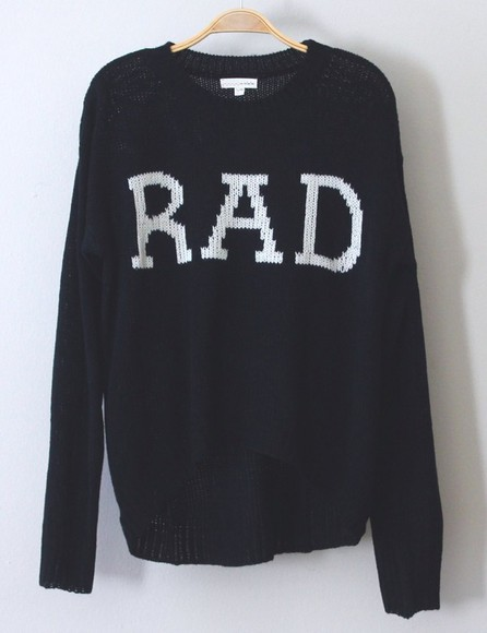 sweater blue sweater navy sweater rad,