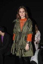 jacket,sweater,olivia palermo,milan fashion week 2018,fashion week,blogger,boots