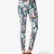 Tropical print skinny jeans | forever21 - 2042851426