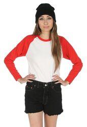 shirt,athens,raglan,raglan sleeve top,red shirt,greece,raglan tee,baseball tee