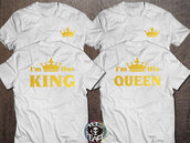 t-shirt,king and queen shirts,king and queen,king,queen,crown,gold crown,gold,tees,tshirt tees,matching set,matching couples,matching shirts,matching tee shirts,matching shirts for couples,couple,couples shirts,couple t-shirts,couples shirt,