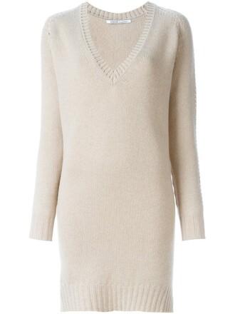jumper long women nude sweater