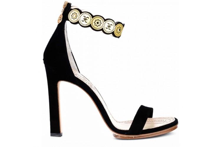 Sandalo donna fabi f2500 cipro nero